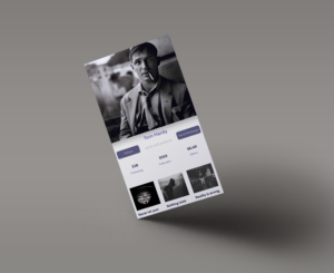 Classic Profile – Free android profile design with source code